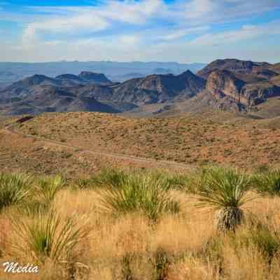 The vast expanse of Big Bend National Park