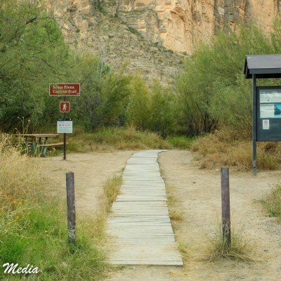 Santa Elena Canyon hike inside Big Bend National Park