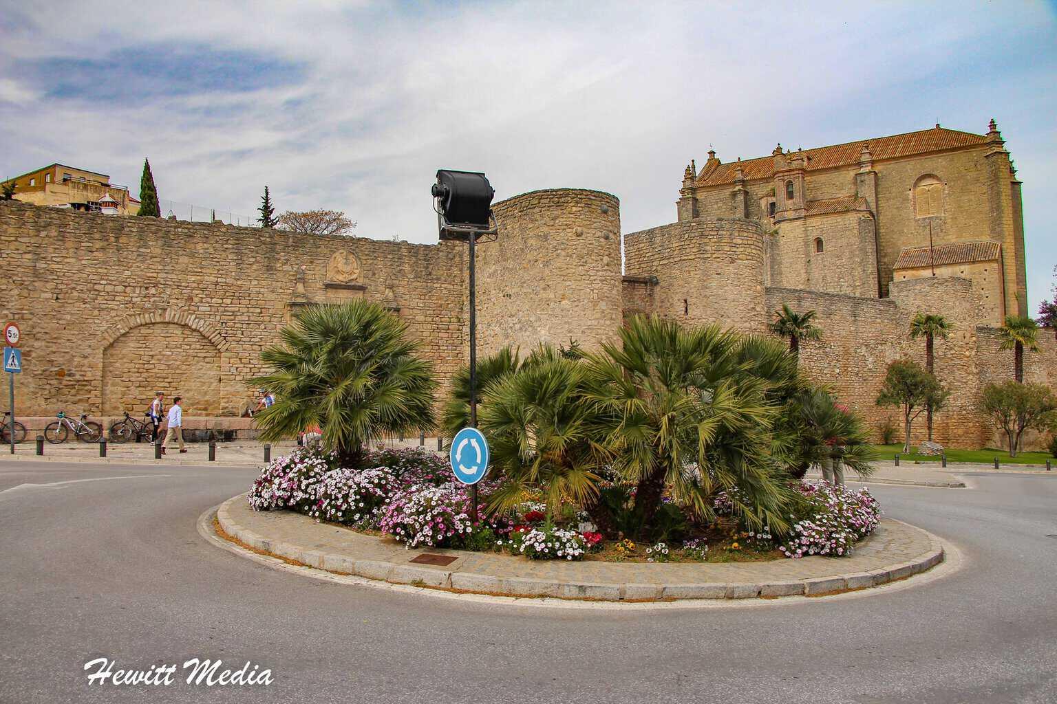 Ronda's Arabic Wall
