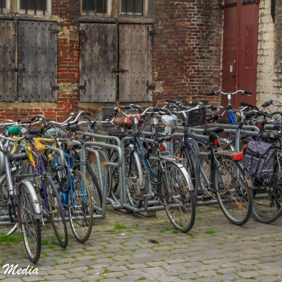 Biking is a big part of the culture in Ghent