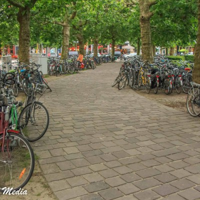 A good sense of how much people love biking in Ghent