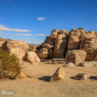 Campground in Joshua Tree National Park