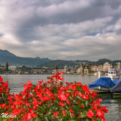 The beautiful Lake Lucerne