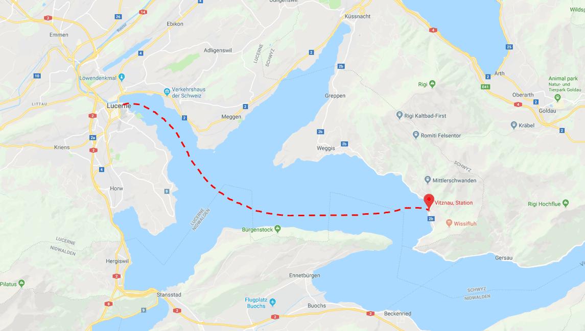 Lucerne Vitznau Map.png