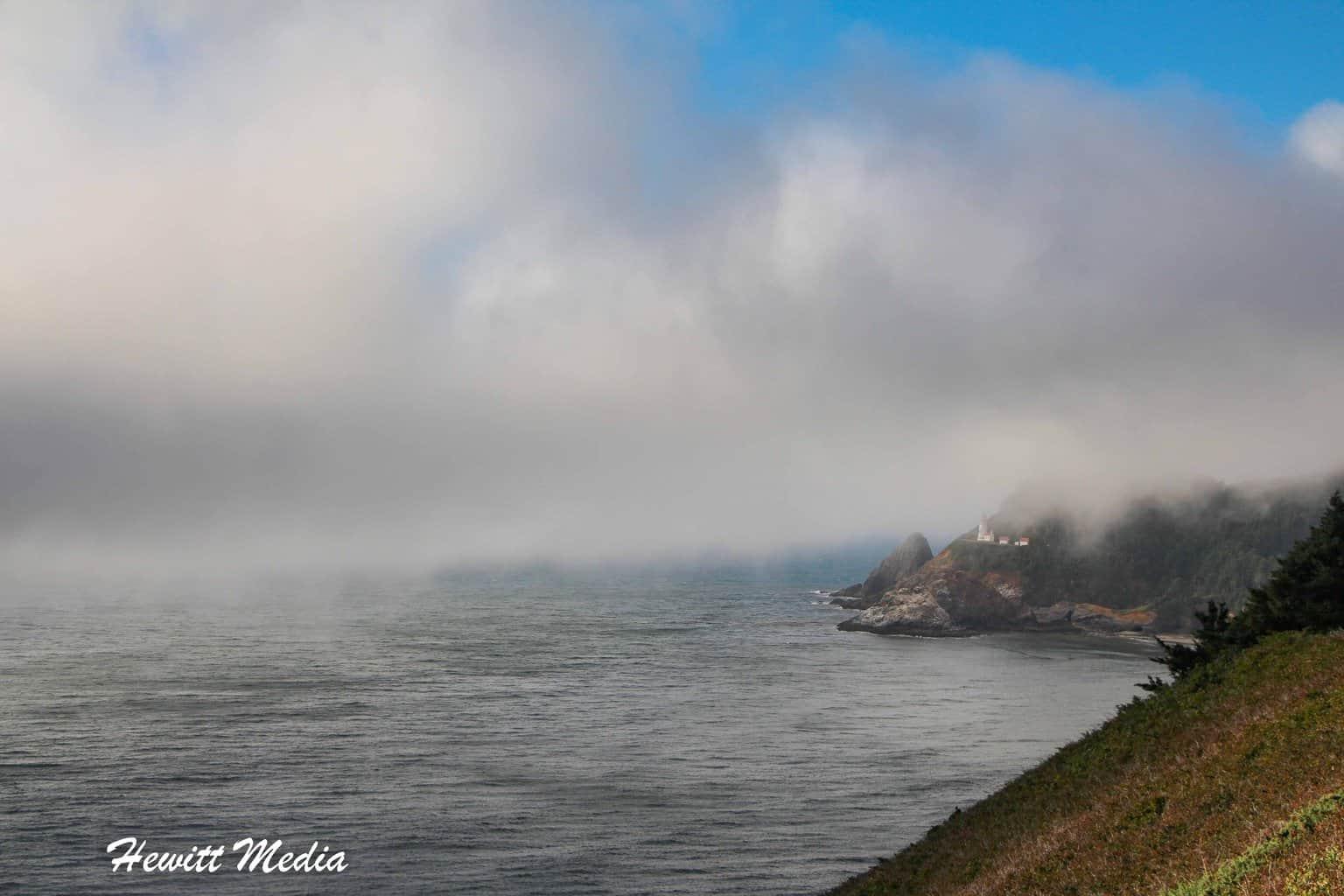 Heceta Head Lighthouse in Oregon