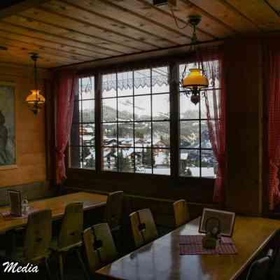 Restaurant at top of Gondola to Mürren