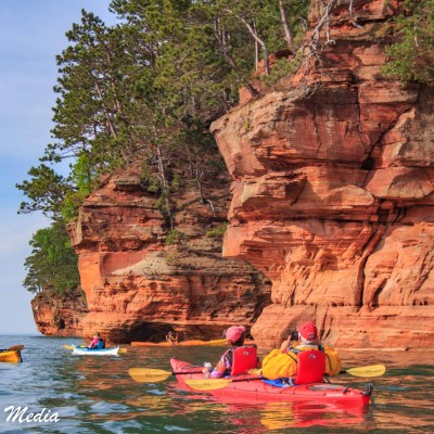 Kayaking in the Apostle Islands