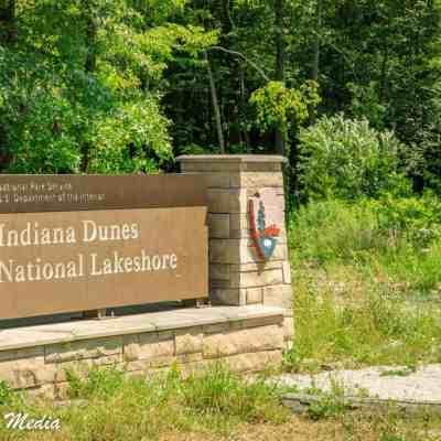 Entrance to Indiana Dunes