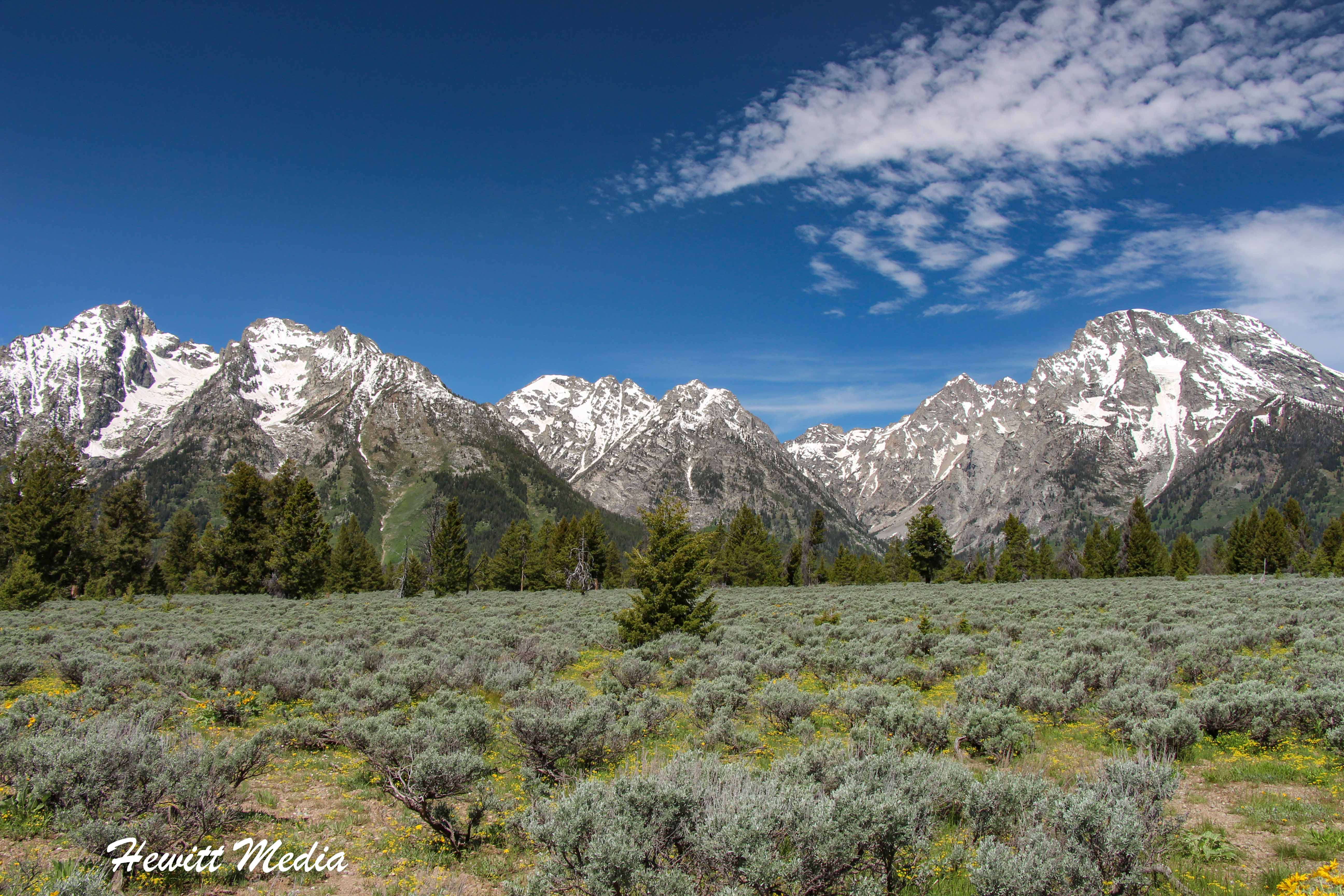 The Grand Teton Range