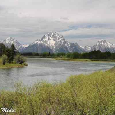 The Snake River and Grand Teton Range