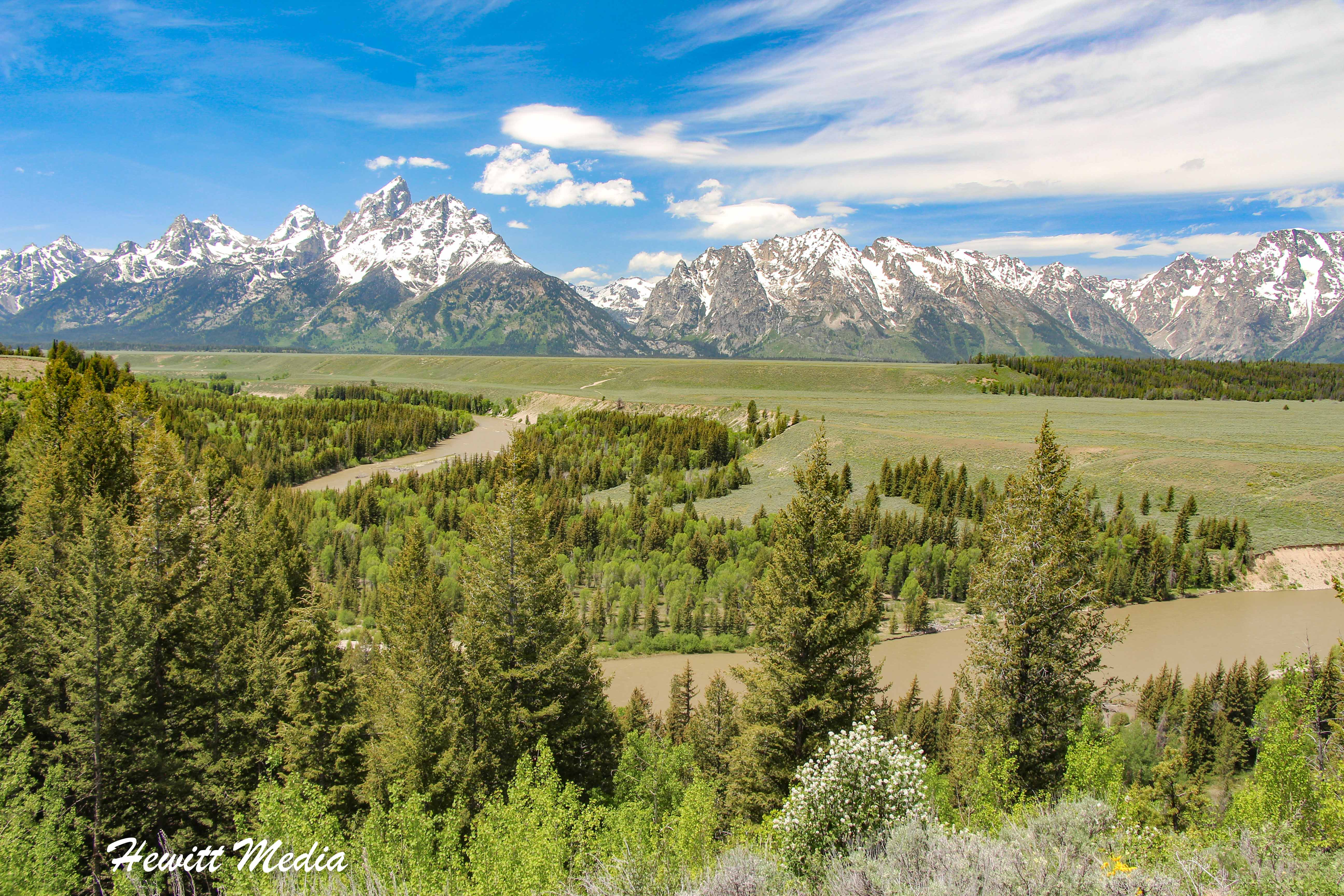 The Snake River and the Grand Teton Range