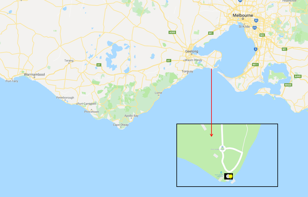 Point Lonsdale Lighthouse - Photo Map