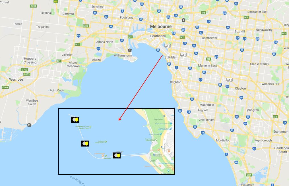 St.Kilda Pier - Photo Map