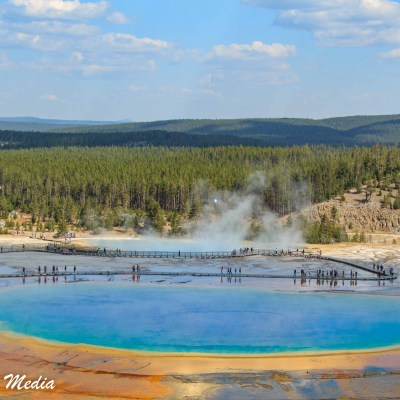 Grand Prismatic Hot Spring