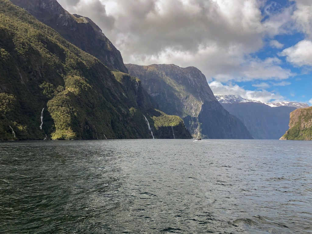 Travel Journal (9/30/2019):  Milford Sound
