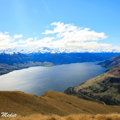 View of Lake Wanaka from the Isthmus Track