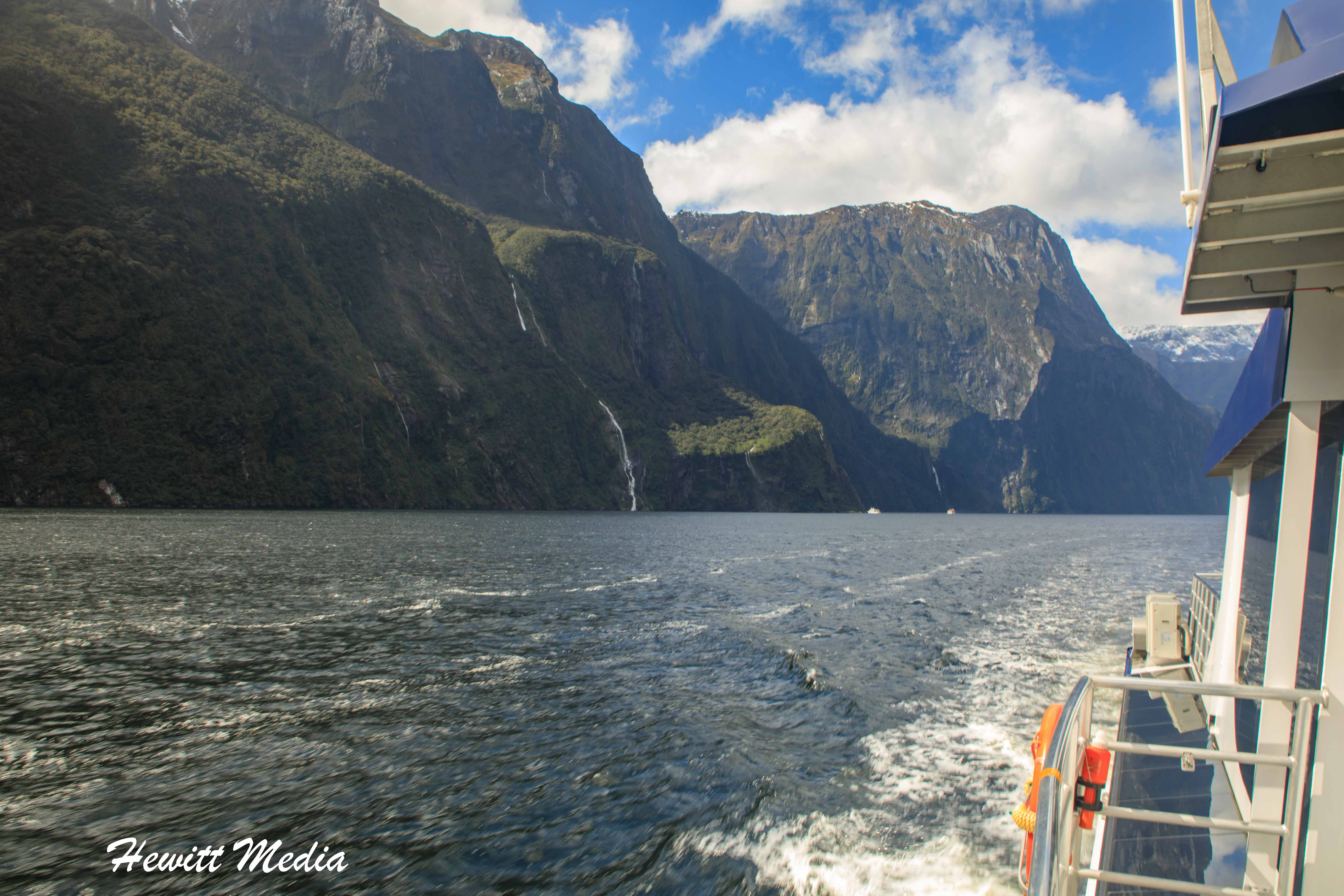 Boat Tour on Milford Sound