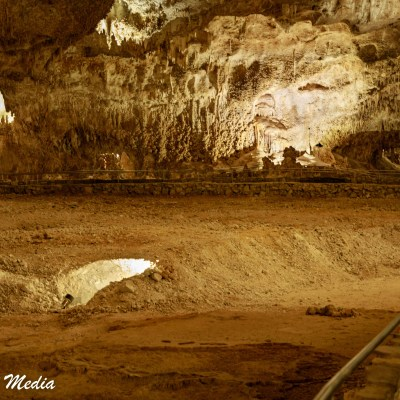 Inside Carlsbad Caverns National Park
