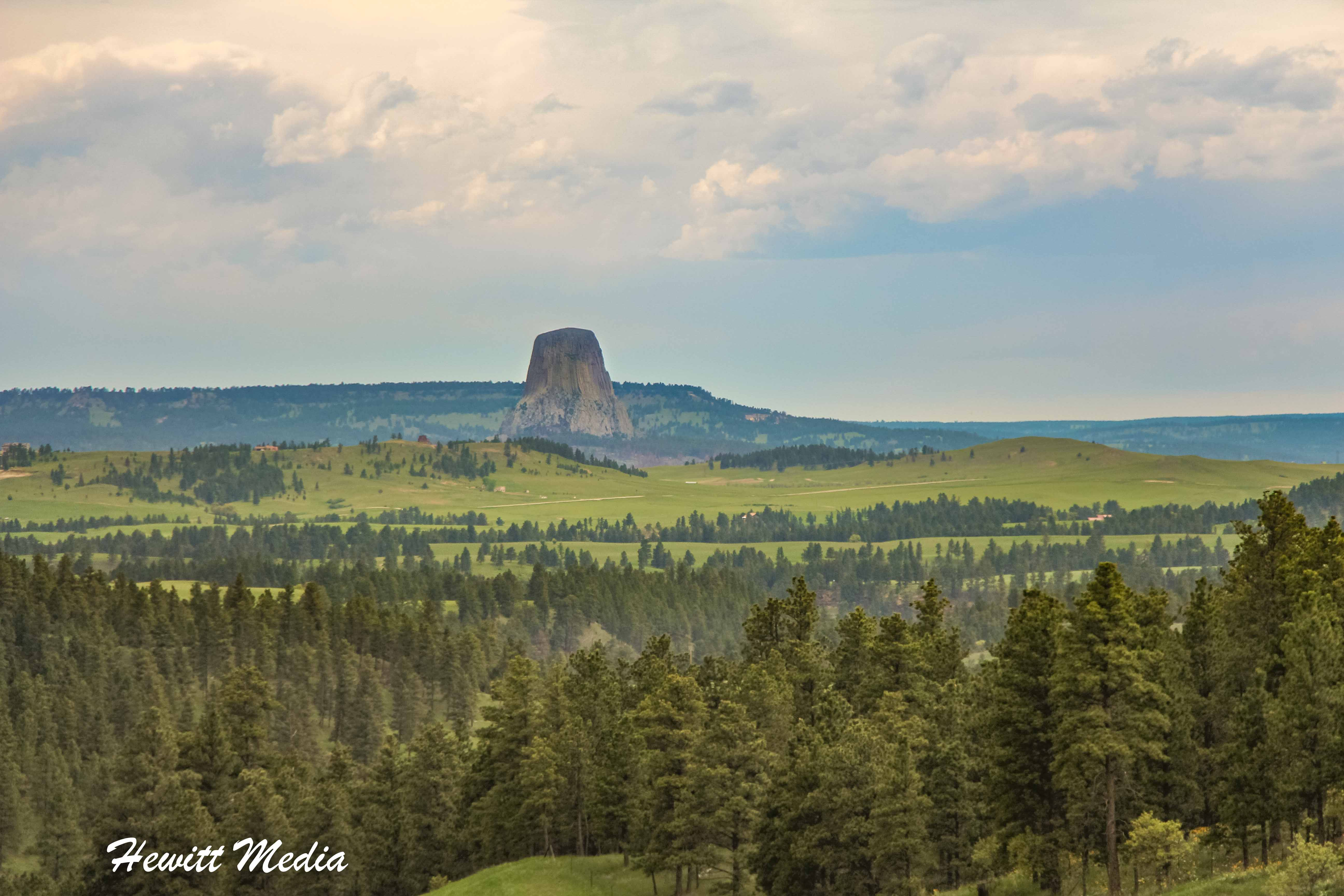 Devil's Tower National Monument from a Distance