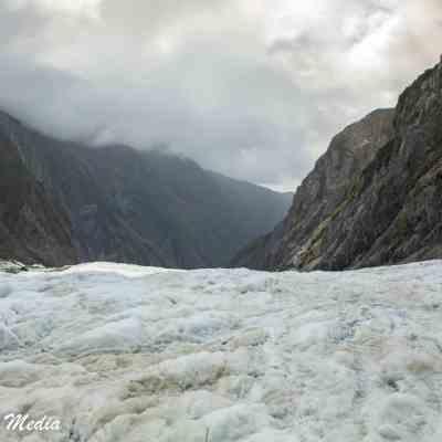 The Franz Josef Glacier