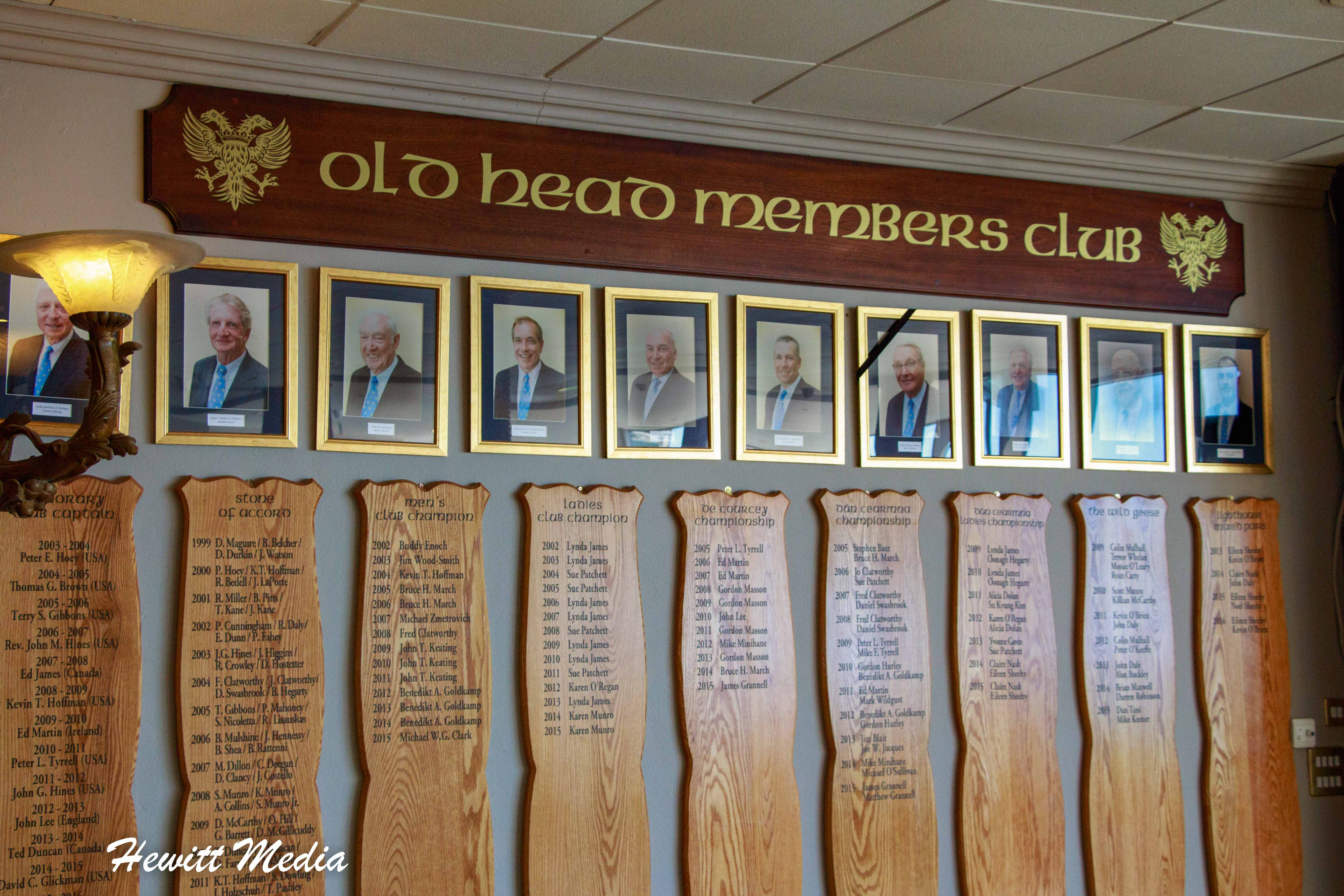 Inside the Old Head Clubhouse