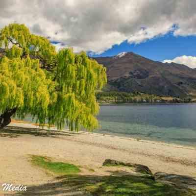 The beautiful Lake Wanaka