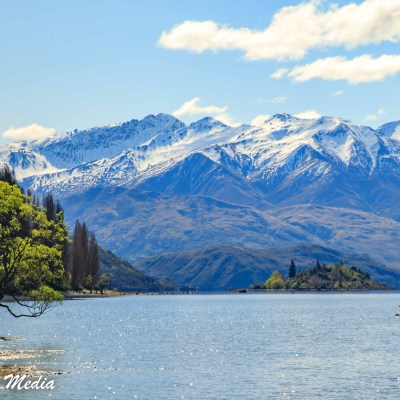 Kayaker on Lake Wanaka