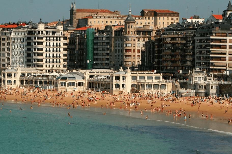 La Concha Beach, Spain