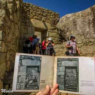 Touring Machu Picchu