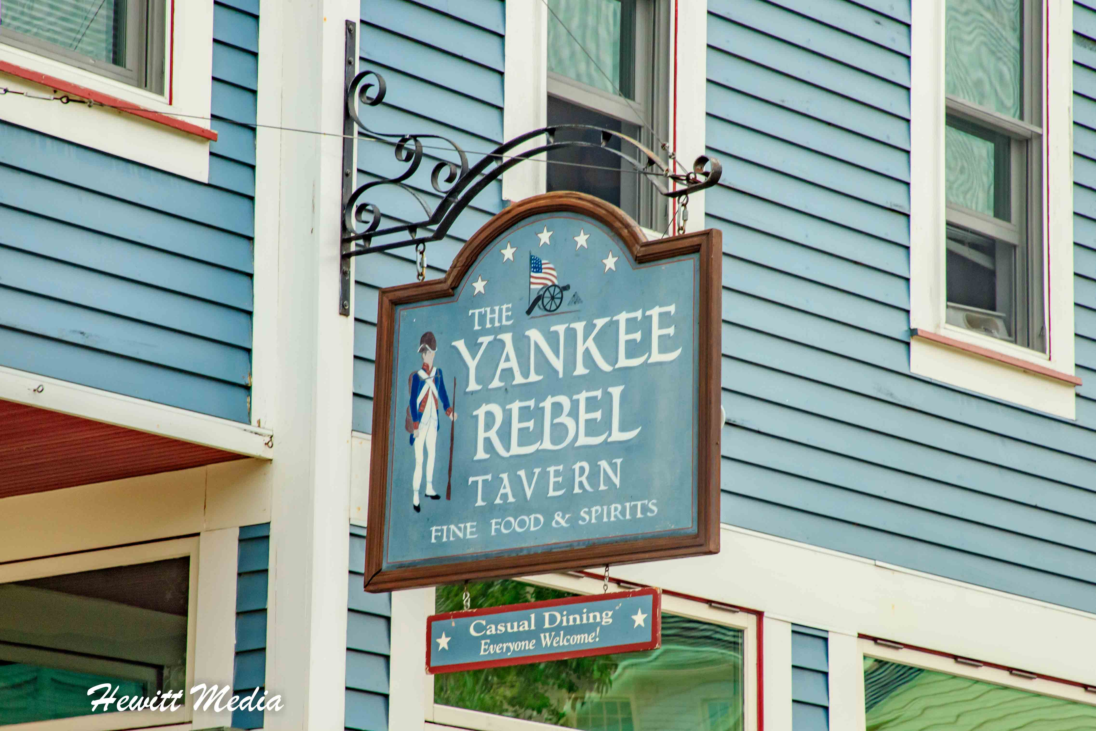 Yankee Rebel Tavern on Mackinac Island