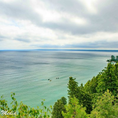 Kayaking Around Mackinac Island