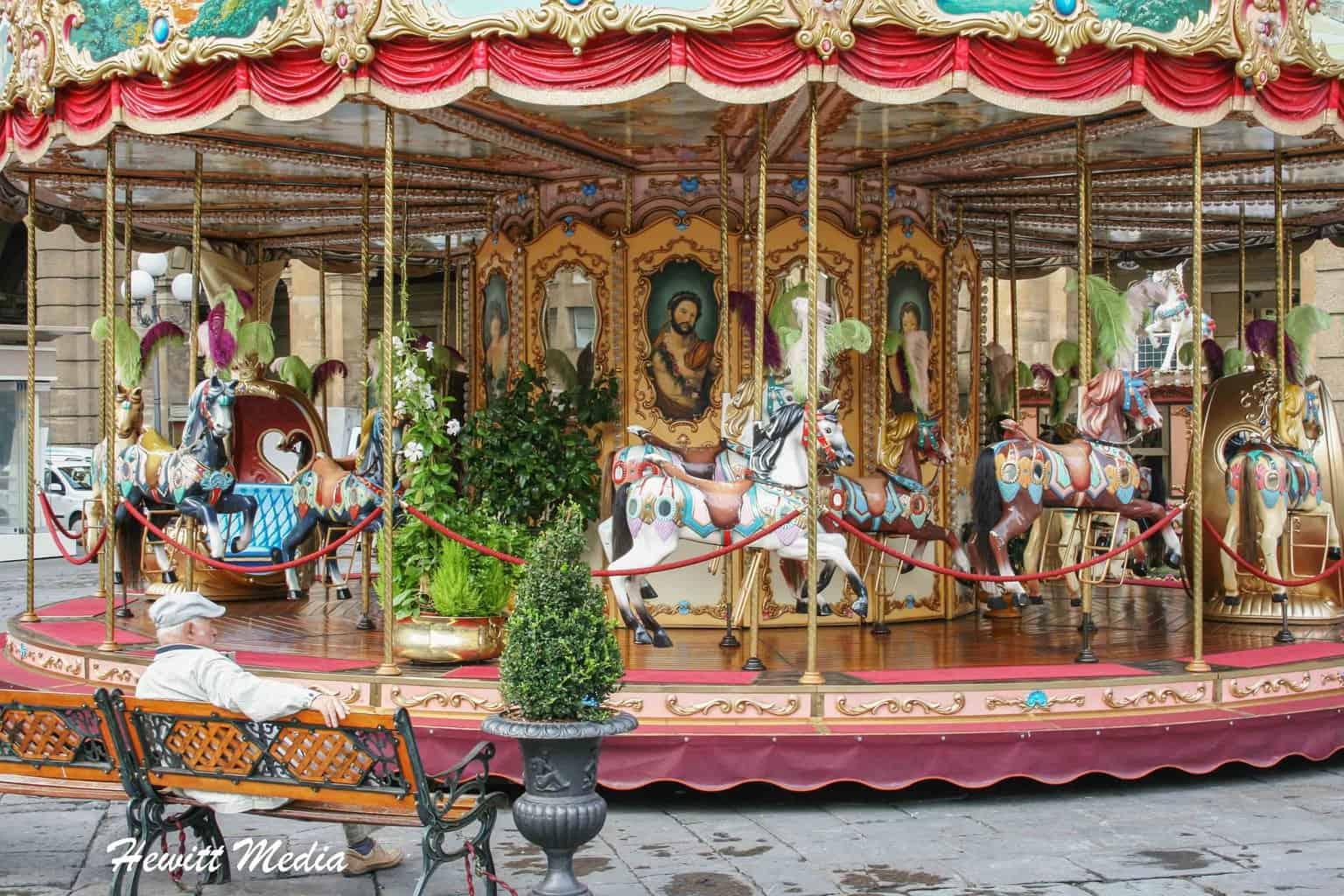 Merri-Go-Round in Florence, Italy