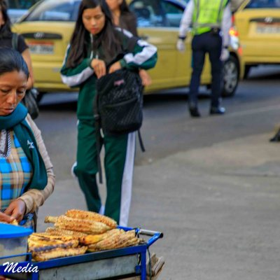 Street Food Near Parque El Ejido