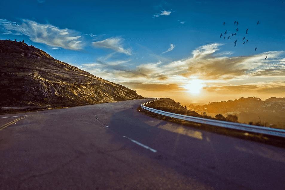 Winding Road Road Trip