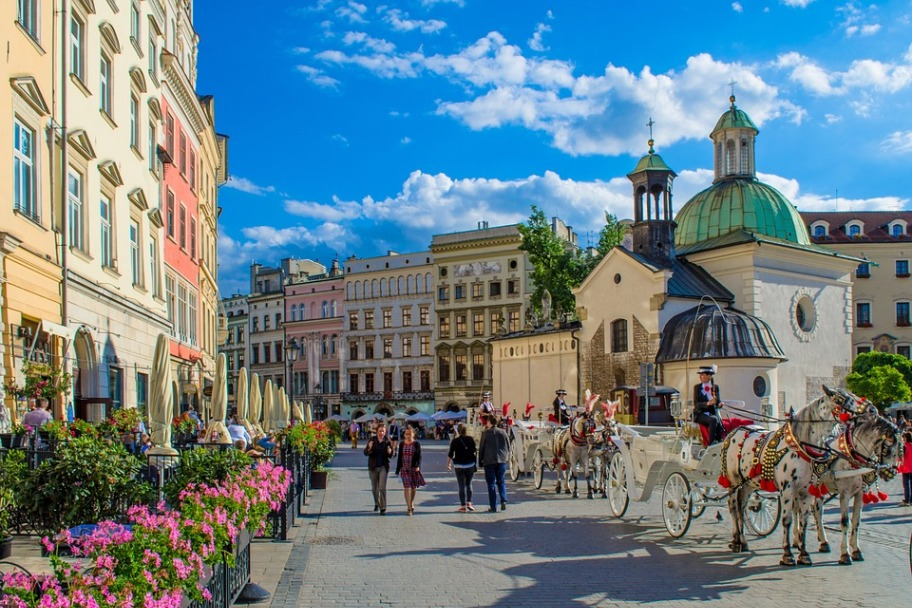 Top Destinations in Europe - Kraków