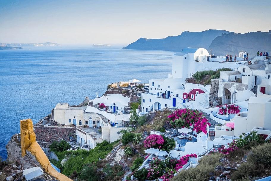 Top European Destinations - Santorini