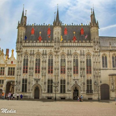 City Hall in Bruges, Belgium