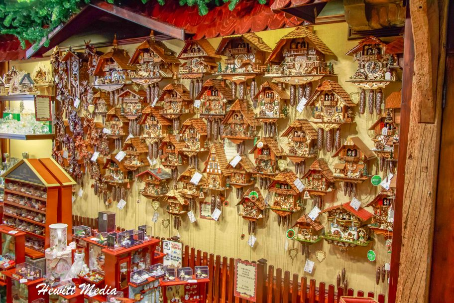 Cukoo Clocks in the Markt in Bruges