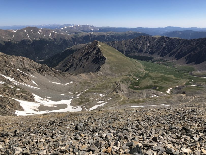 Travel Journal (7/10/2020):  Climbing Grays and Torreys Peaks