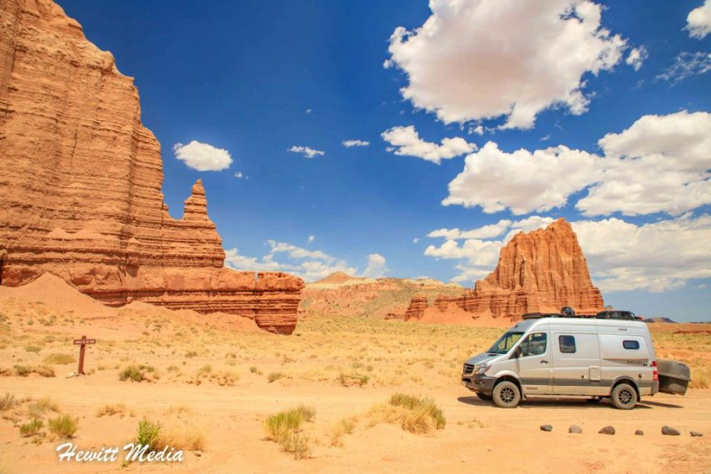 Southern Utah Attractions - Cathedral Valley Capitol Reef National Park