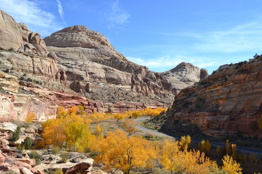 Capitol Reef National Park Autumn