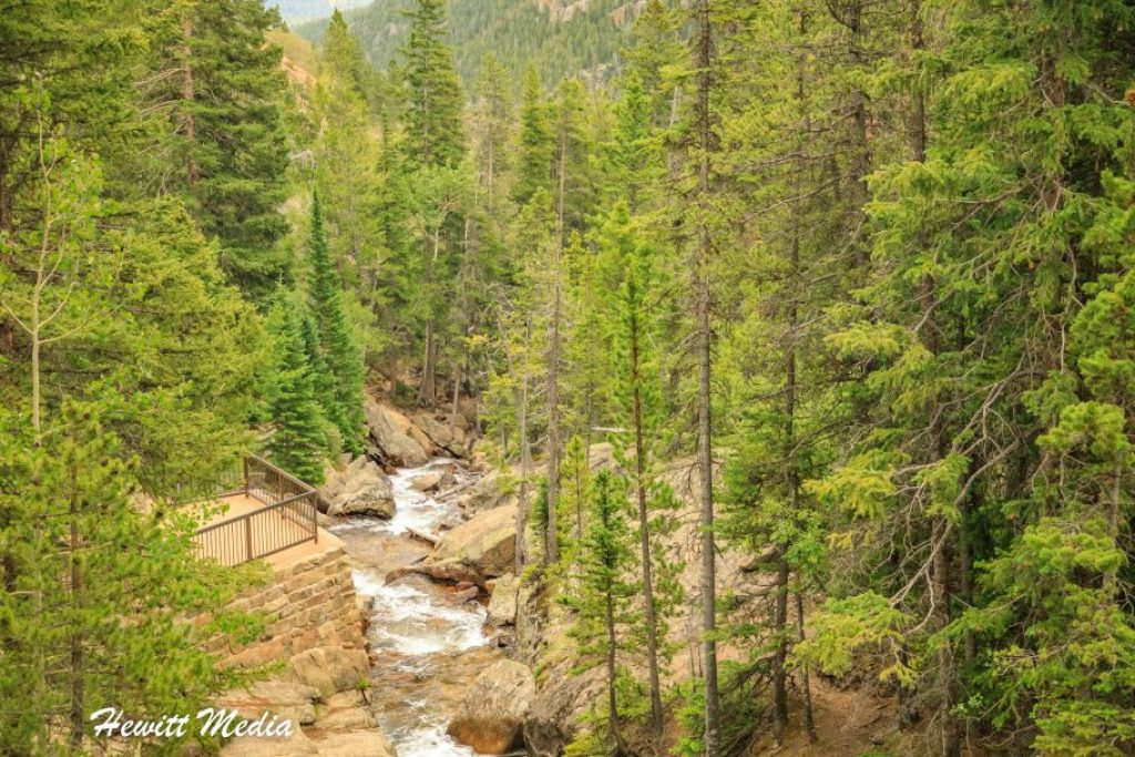 Rocky Mountain National Park Chasm Falls