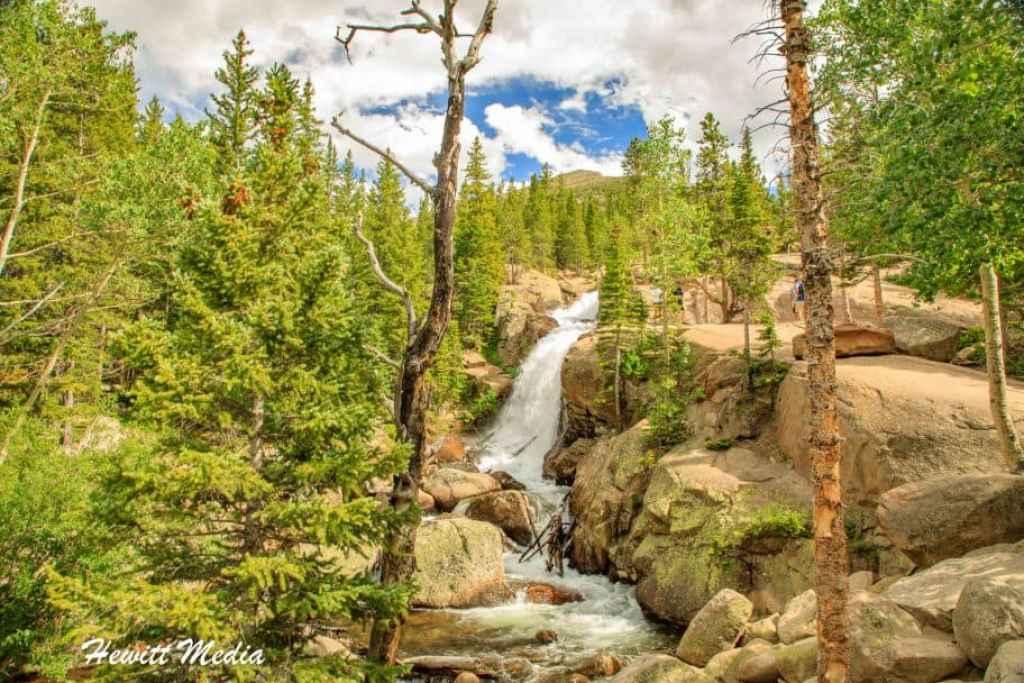 Rocky Mountain National Park Alberta Falls