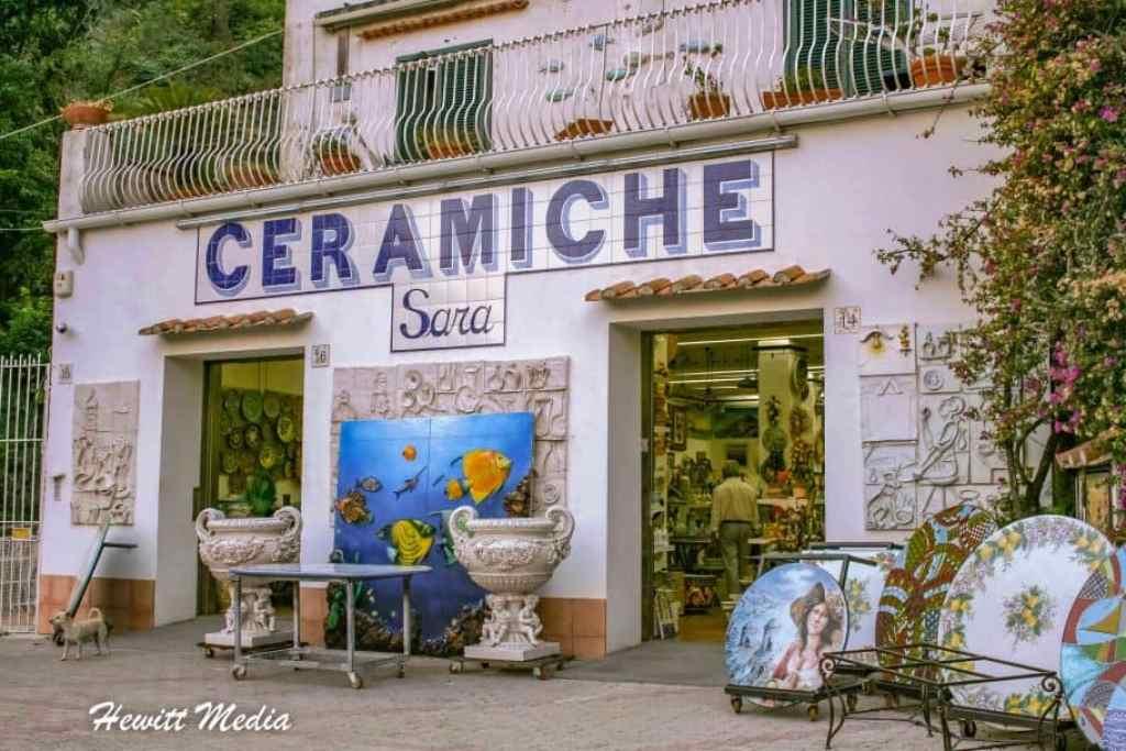 Ceramics Amalfi Coast Italy