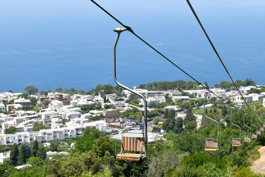 Capri Travel Guide - Monte Solaro Chairlift