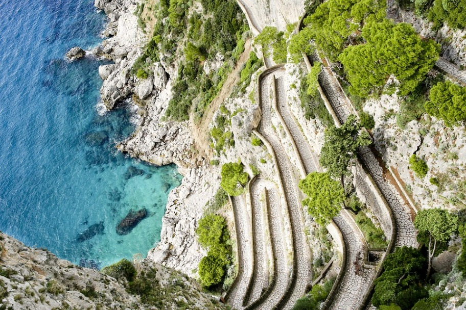 Capri Travel Guide - Gardens of Augustus