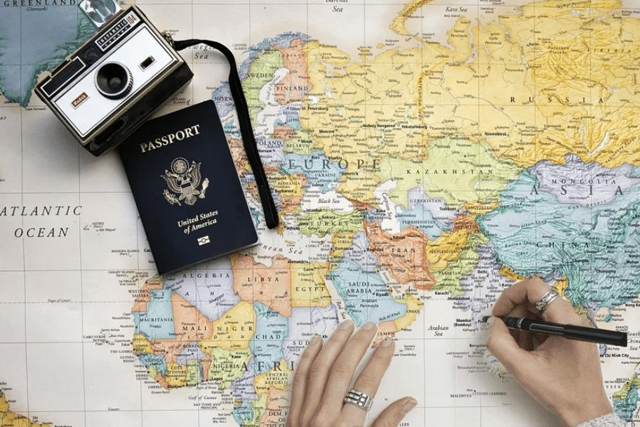 Travel Bucket List Map