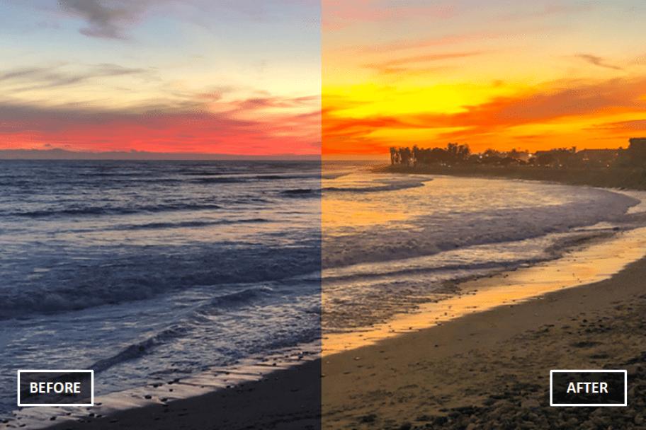 Enhance Sunset Photos