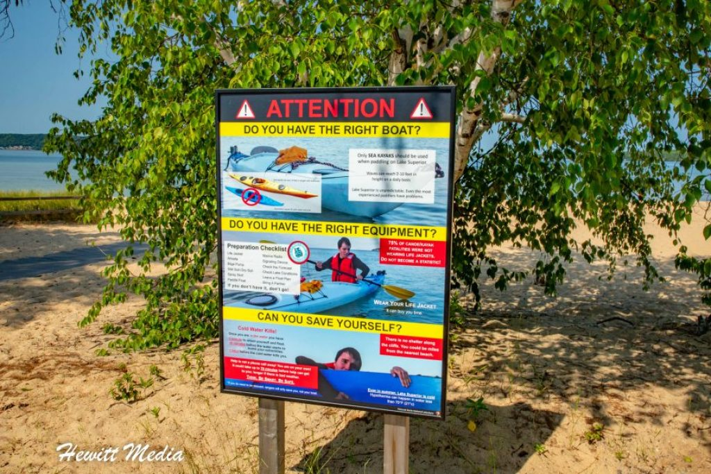 Pictured Rocks Travel Guide - Kayaking Safety Tips