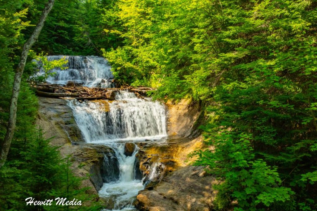 Pictured Rocks Travel Guide - Sable Falls